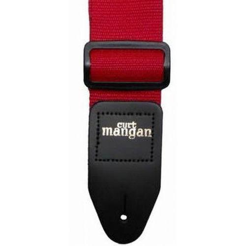 Curt mangan czerwony pas gitarowy