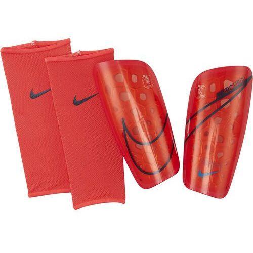 Ochraniacze piłkarskie Nike Merc LT GRD czerwono-czarne SP2120 644, SP2120 644
