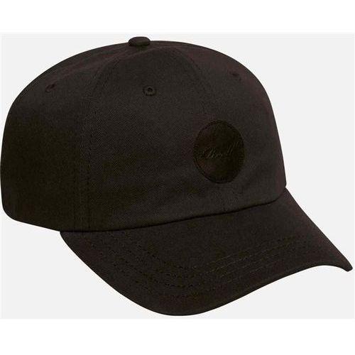 czapka z daszkiem REELL - Dad Cap Cotton Twill Black (BLACK) rozmiar: OS, kolor czarny