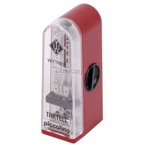 890141 903052 piccolino metronom mechaniczny bez akcentu, kolor czerwony rubin marki Wittner