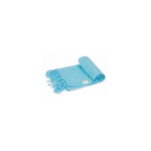 Import Sauna ręcznik hammam 100%bawełna 185/90 ajur 2 błękit