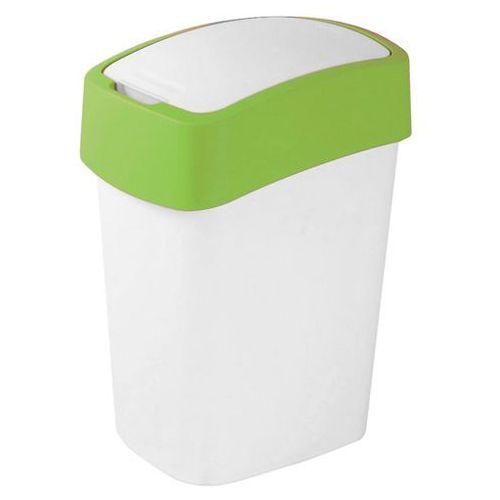 Kosz do segregacji śmieci FLIP BIN 50l zielony (kosz na śmieci)