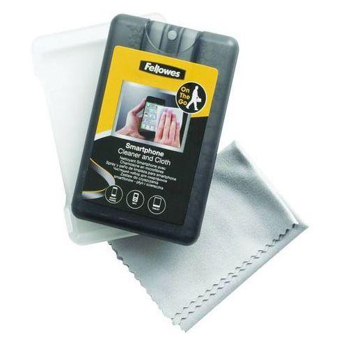 Zestaw do czyszczenia smartfonów FELLOWES płyn + ściereczka 20 ml - A0593, NB-2982