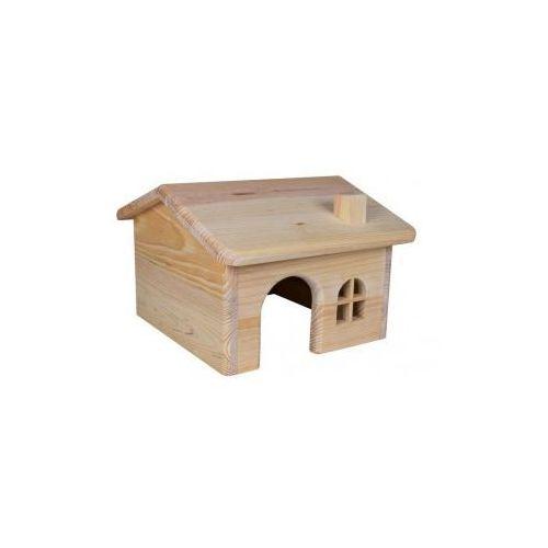 Domek dla gryzoni drewno sosnowe Rozmiar:15 × 11 × 15 cm ze sklepu NaszeZoo.pl - Sklep dla Zwierzaka!