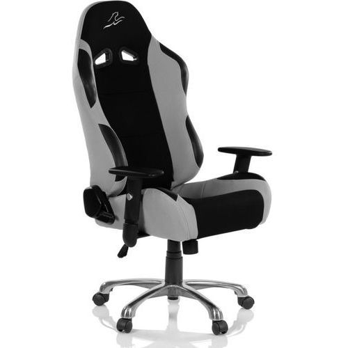 Krzesło biurowe GS RACEMASTER RS Series - czarno-szare