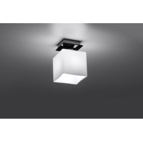 Sollux Lampa sufitowa piazza 1 czarny sl.0221 - - rabat w koszyku