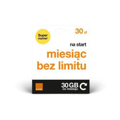 Starter ORANGE Starter Free 30 (5907441065658)