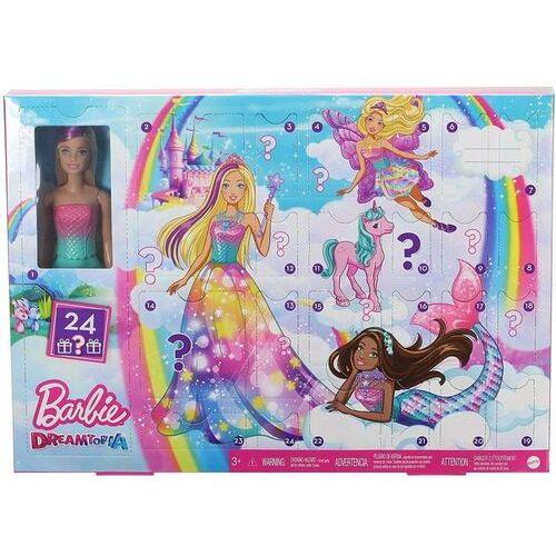 Mattel kalendarz adwentowy Barbie 2020
