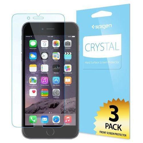 Sgp - spigen Folia ochronna na ekran spigen crystal dla apple iphone 6 plus (3 sztuki)