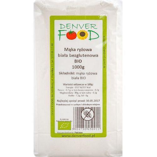 Mąka Ryżowa Biała Bezglutenowa 1kg - Denver Food EKO (5904730450911)
