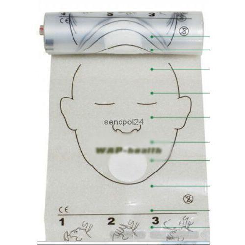 Maski do sztucznego oddychania z filtrem 50 szt w rolce