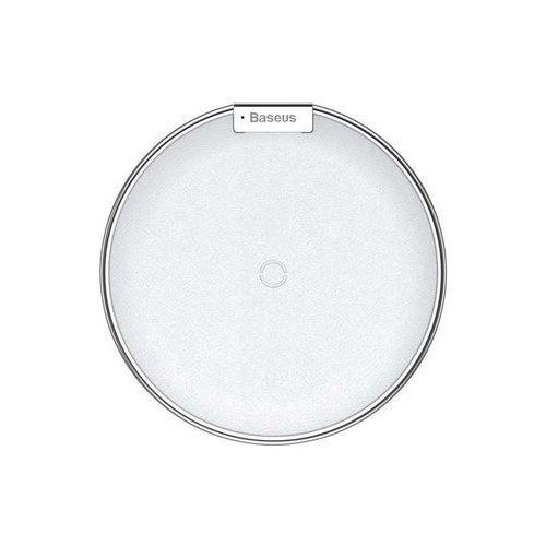 Ładowarka indukcyjna Baseus iX QI bezprzewodowa biało-srebrna - Biały