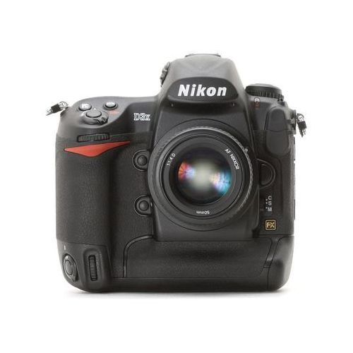 D3x marki Nikon - lustrzanka cyfrowa