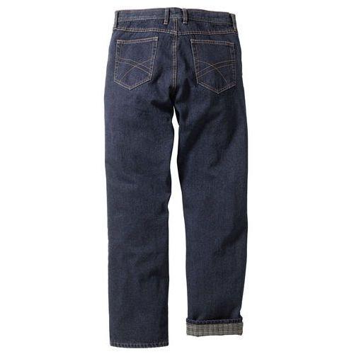 """Dżinsy ocieplane """"CLASSIC FIT"""" bonprix ciemnoniebieski, jeansy"""