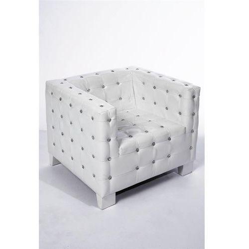 Kare Design Diva Fotel Biały Skóra Lakierowana (74742), marki Kare Design do zakupu w sfmeble.pl