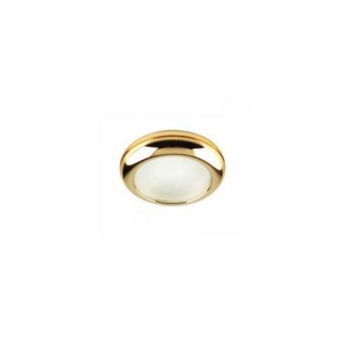 Oczko lampa oprawa wpuszczana downlight Azzardo Biagio 1x50W GU10 złote NC571-G, NC571-G