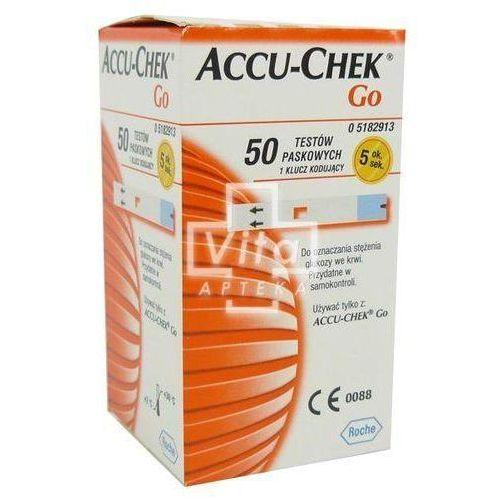 Accu-Chek Go testy paskowe, 50 pasków - sprawdź w wybranym sklepie