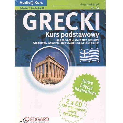Grecki - Kurs Podstawowy A1-A2. Audio Kurs (9788360415986)
