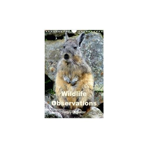 Wildlife Observations / Family Organizer (Wall Calendar 2017 DIN A4 Portrait) (9781325156696)