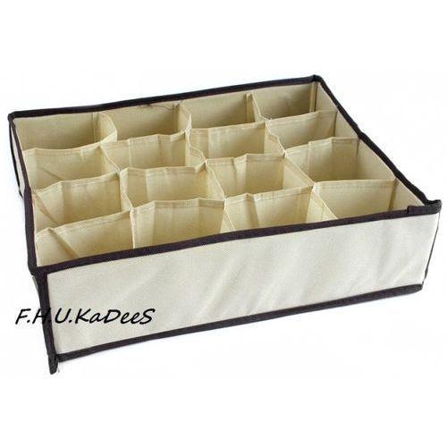 Organizer do szuflady na bieliznę z 16 przegródkami (pudło na ubranie)