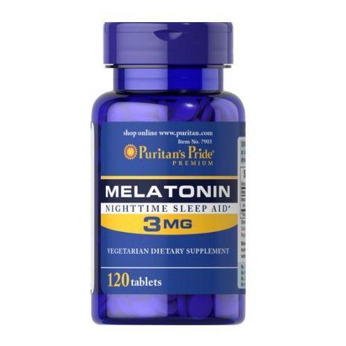 Tabletki Puritan's Pride Melatonina 3mg 120 tabl.