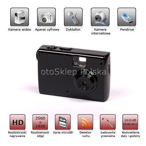 Mini aparat szpiegowski z kamerą HD od otosklep.bazarek.pl