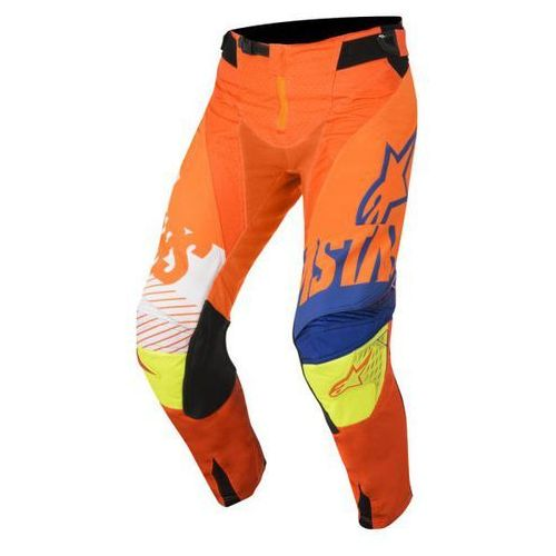 SPODNIE ALPINESTARS YOUTH RACER SCREAM S8Y O/B/WH/Y