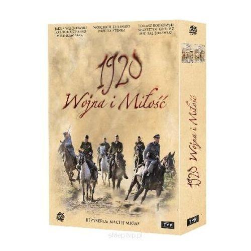 1920. wojna i miłość dvd marki Tvp