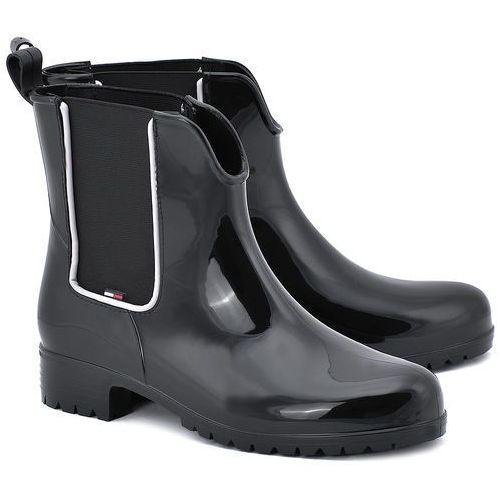 Oxley 5R - Czarne Gumowe Kalosze Damskie - FW56818750 990 (kalosz damski) od MIVO Shoes Shop On-line