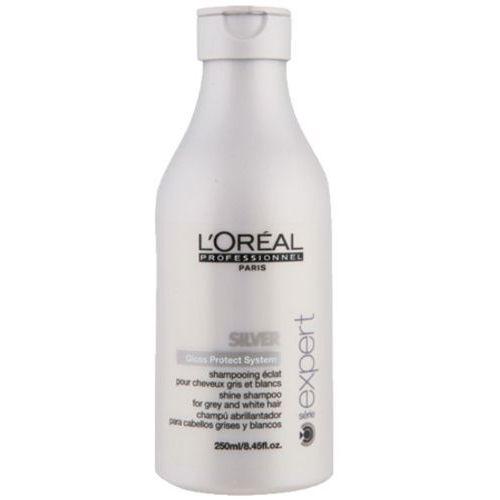 L'Oreal SILVER SHAMPOO Szampon do włosów mocno rozjaśnionych lub siwych (300 ML)