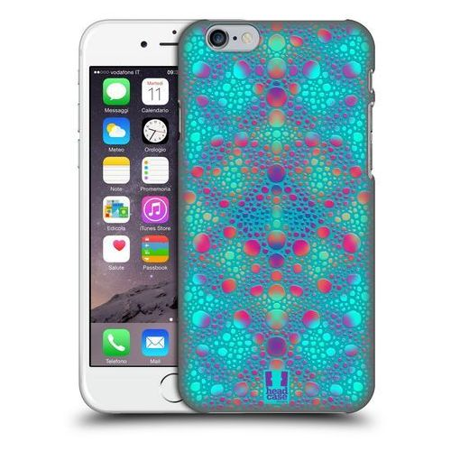 Etui plastikowe na telefon - chameleon skin patterns blue marki Head case