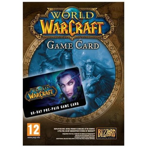 Cd projekt Gra pc cdp.pl world of warcraft pre paid (5907610740157)