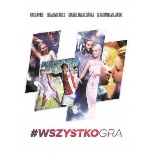 #Wszystkogra książka + DVD (9788326824562)