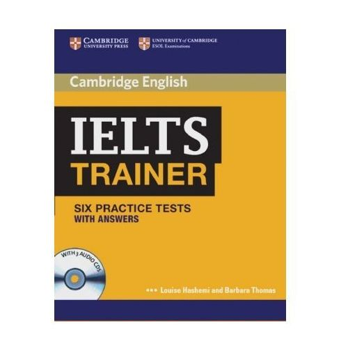 IELTS Trainer - Six Practice Tests (with answers), w. 3 Audio-CDs (9783125348479)
