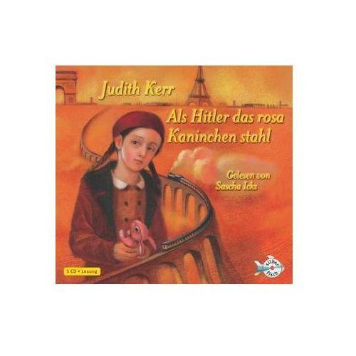 Als Hitler das rosa Kaninchen stahl, 5 Audio-CDs (9783867426534)