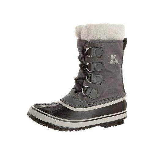 Sorel WINTER CARNIVAL Śniegowce pewter/black