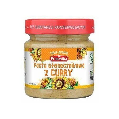 142primavika Pasta słonecznikowa z curry 160g primavika