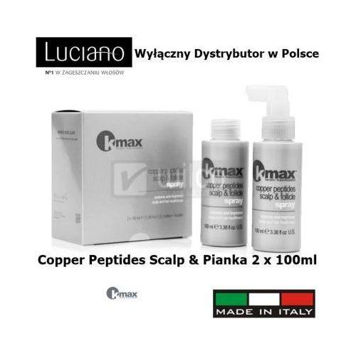 Kmax keratin maximization Peptydy miedzi kmax porost włosów łysienie 2 x 100ml