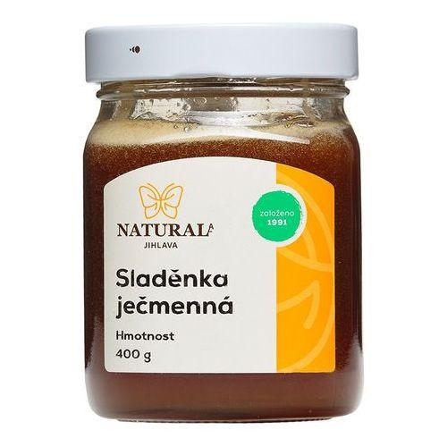 Ekstrakt słodu jęczmiennego słód jęczmienny 400g NATURAL