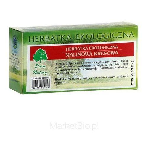 Dary natury herbatka malinowa kresowa 20 sasz. (5902741004345)