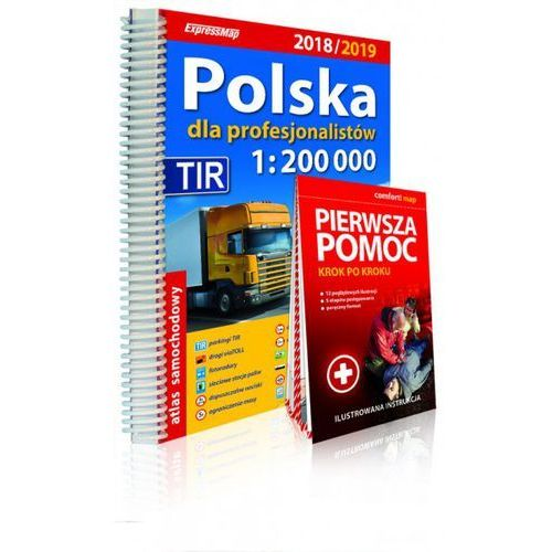 Polska dla profesjonalistów Atlas samochodowy 1:200 000 2018/2019 - Expressmap (2018)