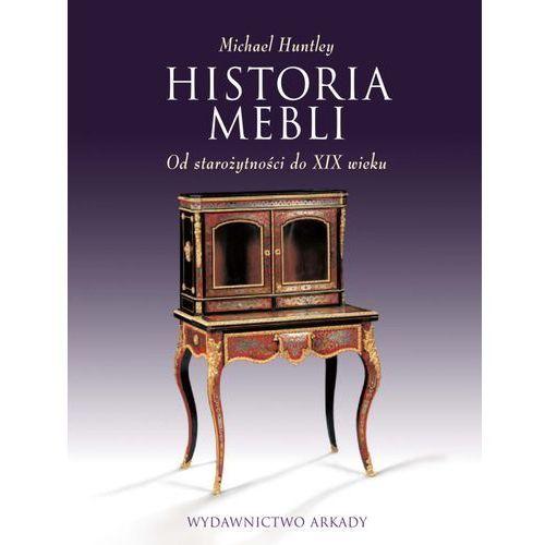 HISTORIA MEBLI OD STAROŻYTNOŚCI DO XIX WIEKU (9788321348162)