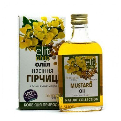 Olej z Nasion Gorczycy, Musztardowy, 200 ml, 100% Naturalny