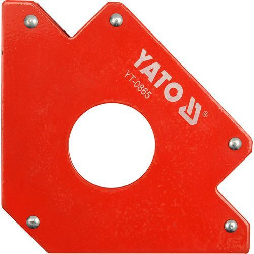 Yato Spawalniczy kątownik magnetyczny 122x190x25 mm / yt-0865 /  - zyskaj rabat 30 zł (5906083908651)