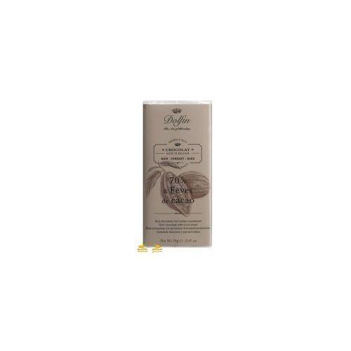 Dolfin the art of blending Czekolada dolfin 70% z ziarnami kakao 70g