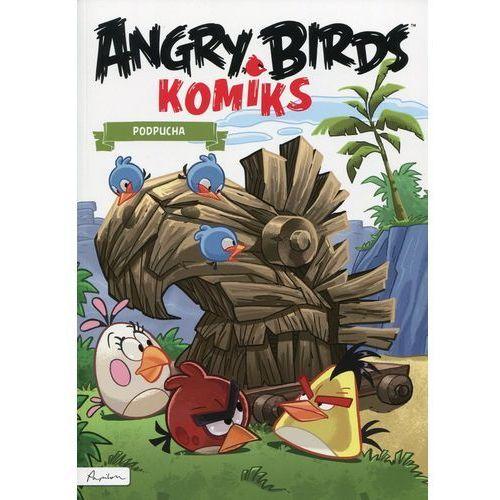 ANGRY BIRDS KOMIKS PODPUCHA + zakładka do książki GRATIS, Papilon