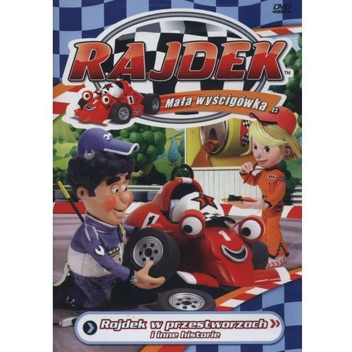 Rajdek mała wyścigówka 2 - w przestworzach dvd, 70002503317DV (4339665)