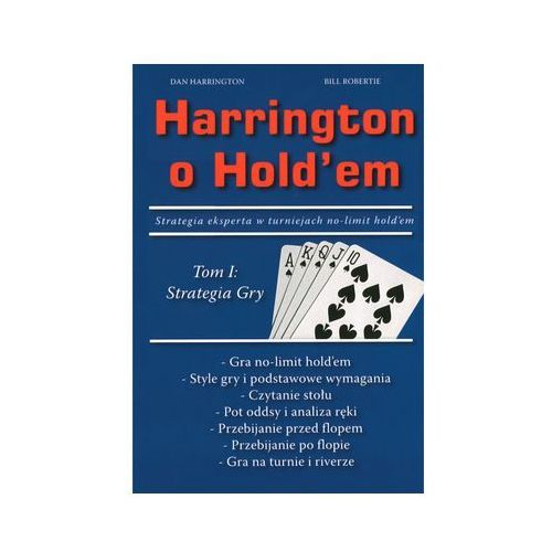 Książka harrington o hold`em tom 1 marki P.w.euro-tech anita gibas