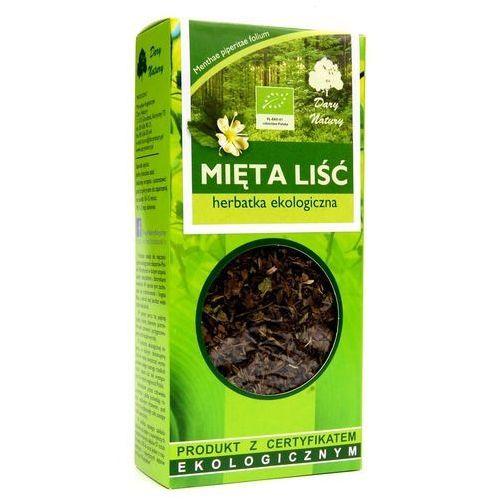 Dary natury - herbatki bio Herbatka liść mięty bio 25 g - dary natury (5902741005380)