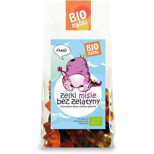 Żelki (misie) bez żelatyny bio 100 g - biominki marki Biominki (przekąski dla dzieci)